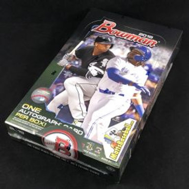 2019 Bowman Baseball Sealed Hobby Box