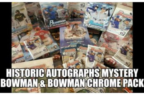 Bowman & Chrome MYSTERY Baseball Packs - 2004-2020