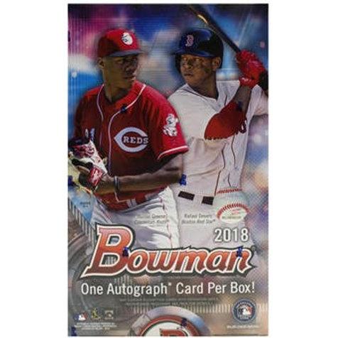 2018 Bowman Baseball Sealed Hobby Box