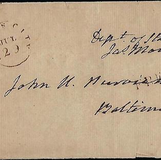 5th President James Monroe