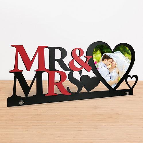 Mr & Mrs MDF Photo Frames