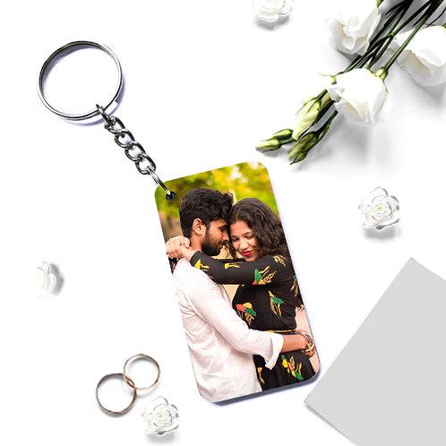Photo Printed Keyrings - Rectangle ( Single Side )