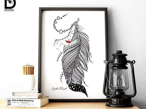 Doodle Art - A4