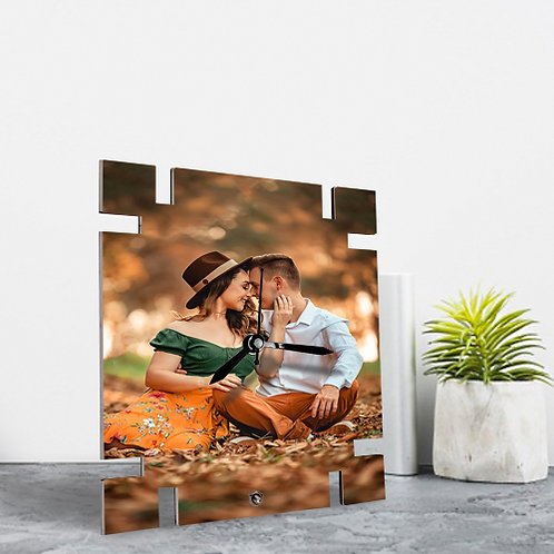 MDF Photo Frames With Clock