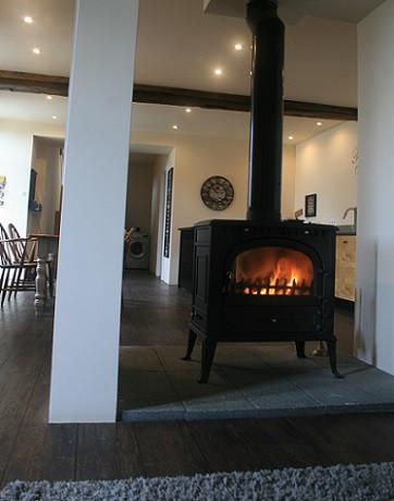 Jonty de Veille Double-Side Wood Burner | Cosy Winter Breaks