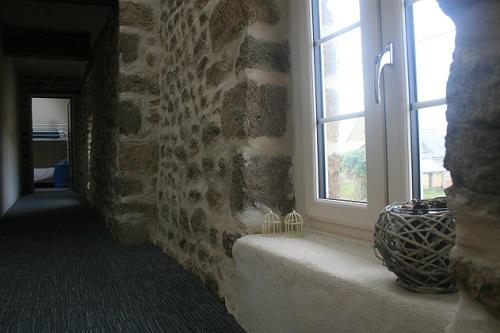 Landing Stonework | Gites Le Bisson