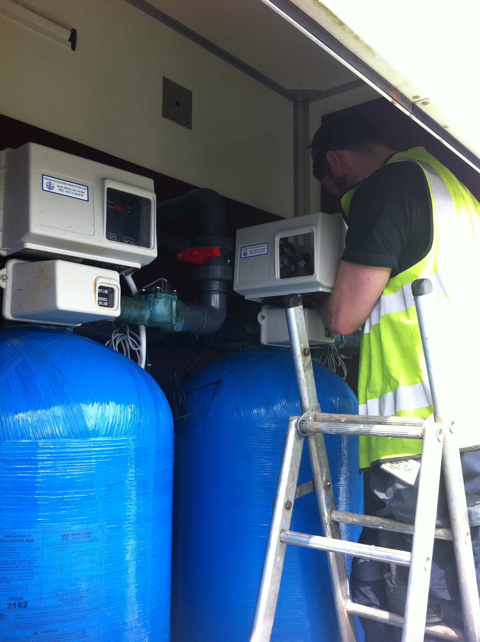 Commercial Water Softener Servicing