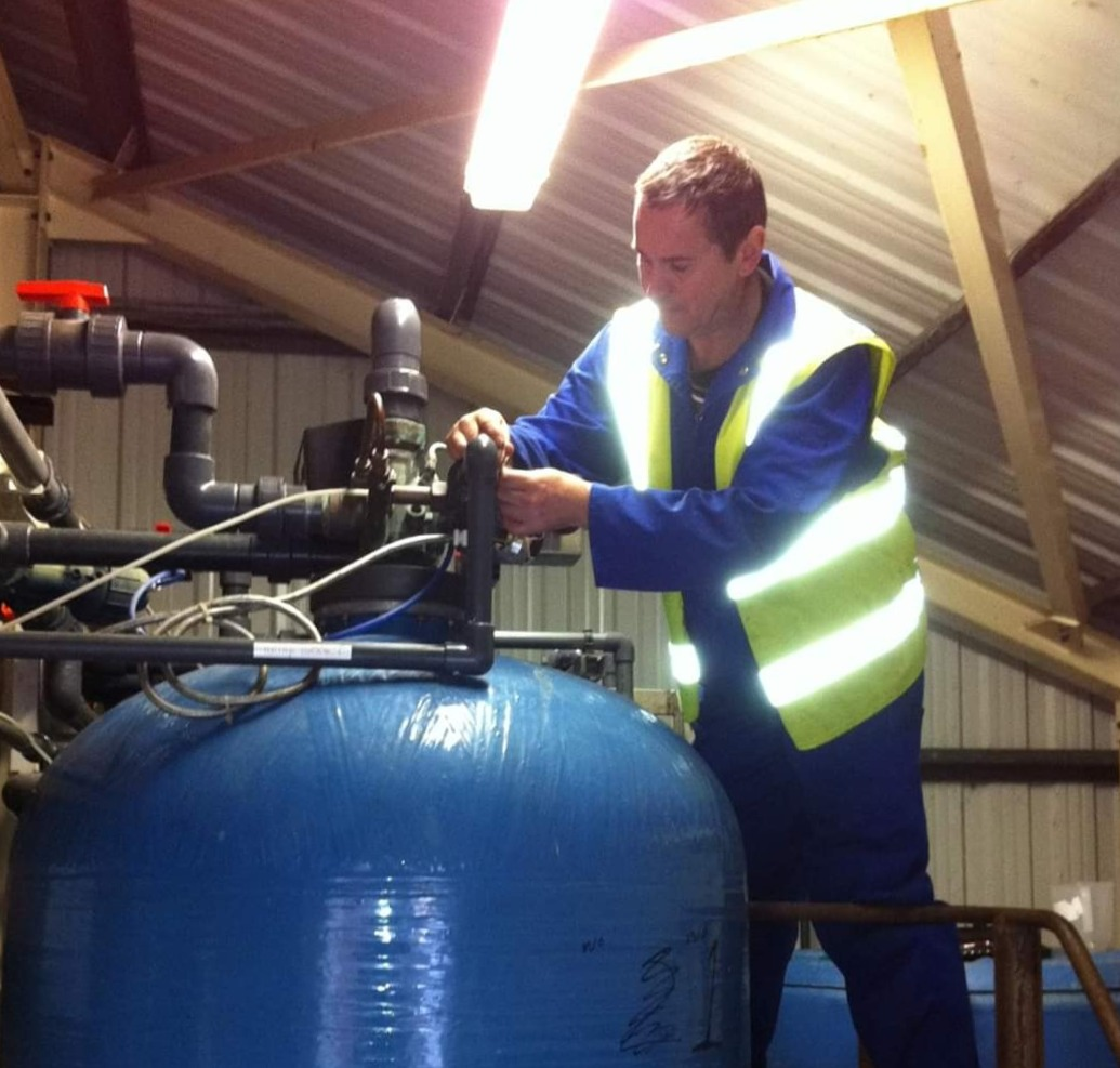 Industrial Water Softener Servicing