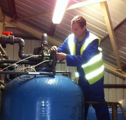 Industrial Water Softener Servicing