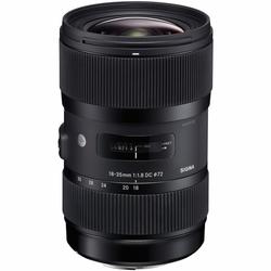 Sigma ART 18-35mm f/1.8 (EF mount)