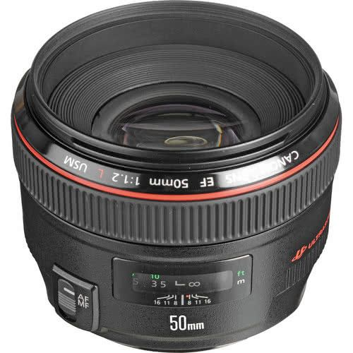 Canon L 50mm f/1.2L (EF mount)