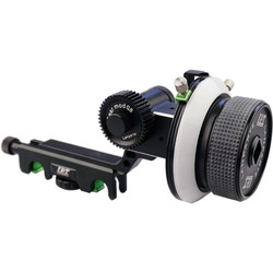 Lanparte FF-02 AB Hard Stop Follow Focus Quick Release for 15mm rods