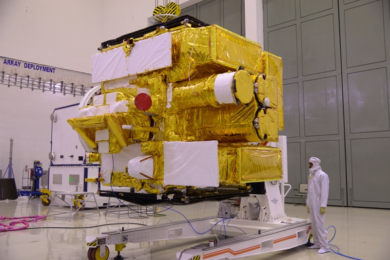 inspection-of-astrosat-clean-room-prior-to-its-launch