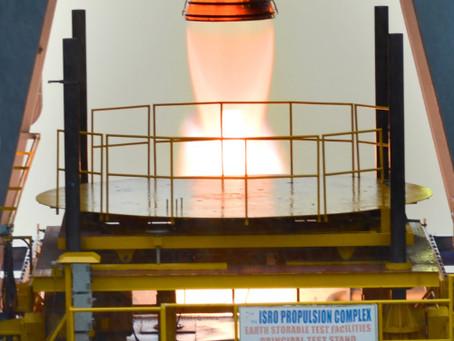 High Thrust Vikas Engine test successful
