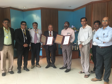 MoU between ISRO and EIL