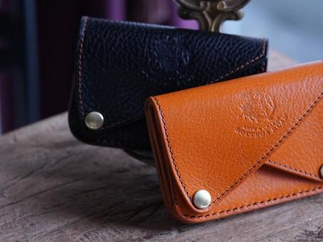 ダブルフラップのミニ財布、名刺入れについて