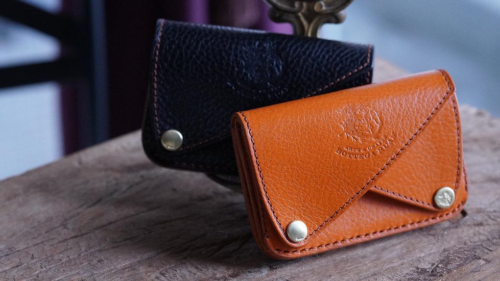 ダブルフラップミニ財布、名刺入れ