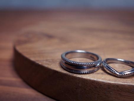 【ハンドメイド】リングを作る ミル打ち リング Making mill grain marriage ring by Bottega Ruan