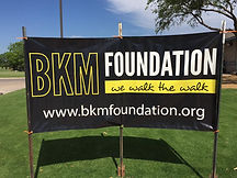 BKM Foundation Sign