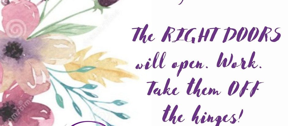 Small PEARLS; Take The Hinges OFF!