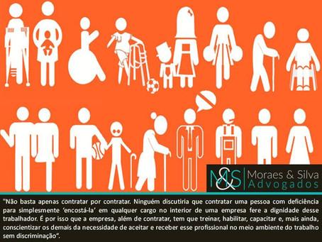 Empresa não pode ser condenada por dificuldade em contratar pessoas com deficiência