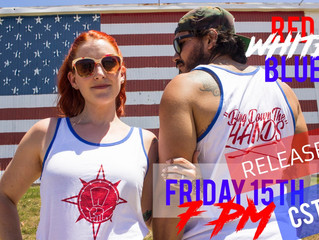 Don't miss the RED WHITE BLUE RELEASE TONIGHT🇺🇸