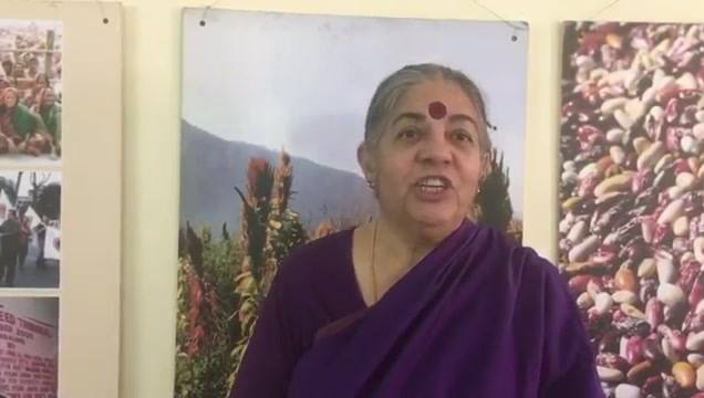 Here's the message sent from Vandana Shiva to the #PE2018. Inspiring people, truly changemakers!