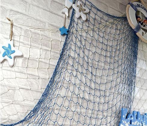 Сеть морская синяя
