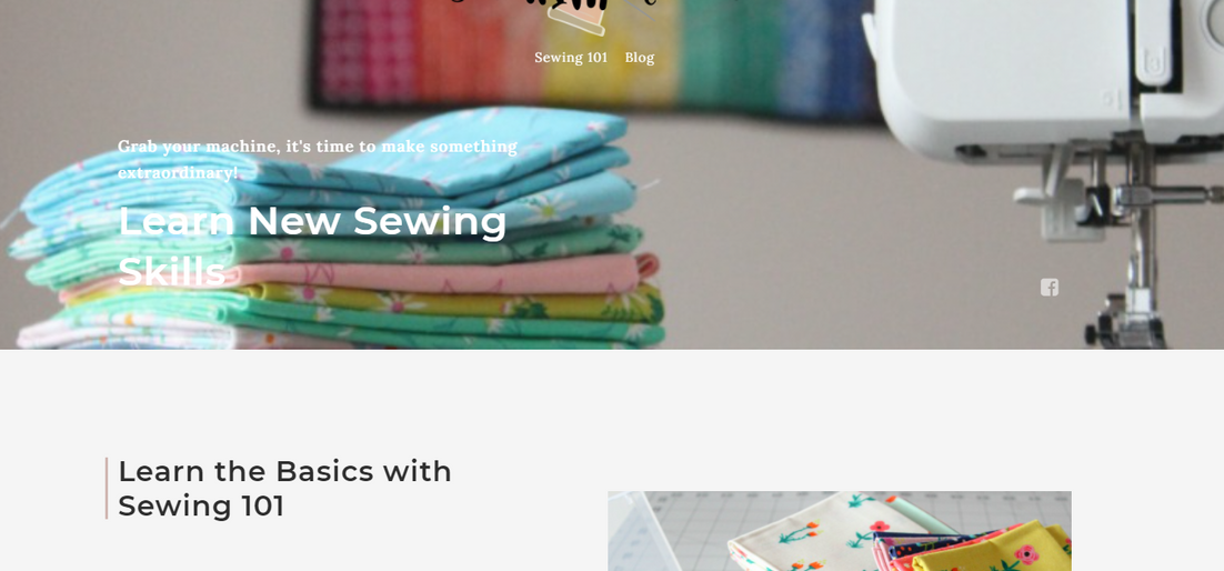 Sew With Alicia - Sewing 101