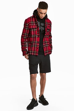 H&M Men's Black Sweatshorts