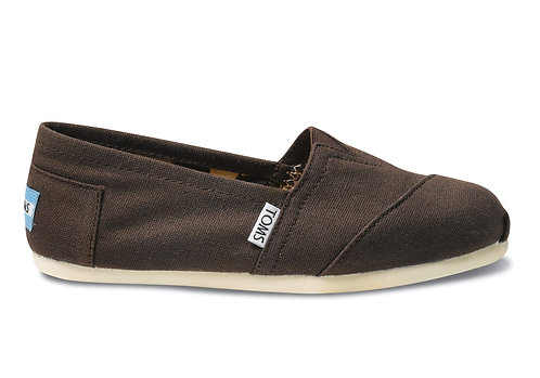 TOMS Chocolate Women's Canvas Classics