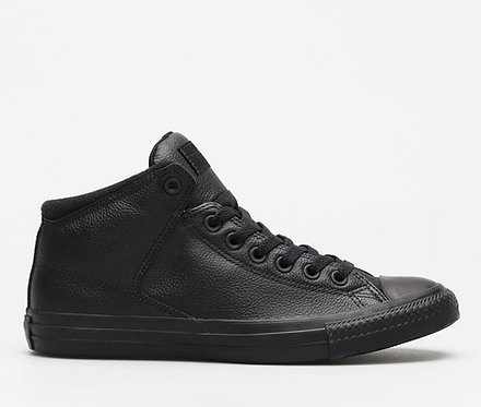 Converse Chuck Taylor Monochrome Leather Mid Top