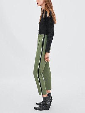 ZARA Trousers with Side Stripes