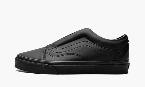 VANS Women's Leather UA Old Skool Laceless Sneakers