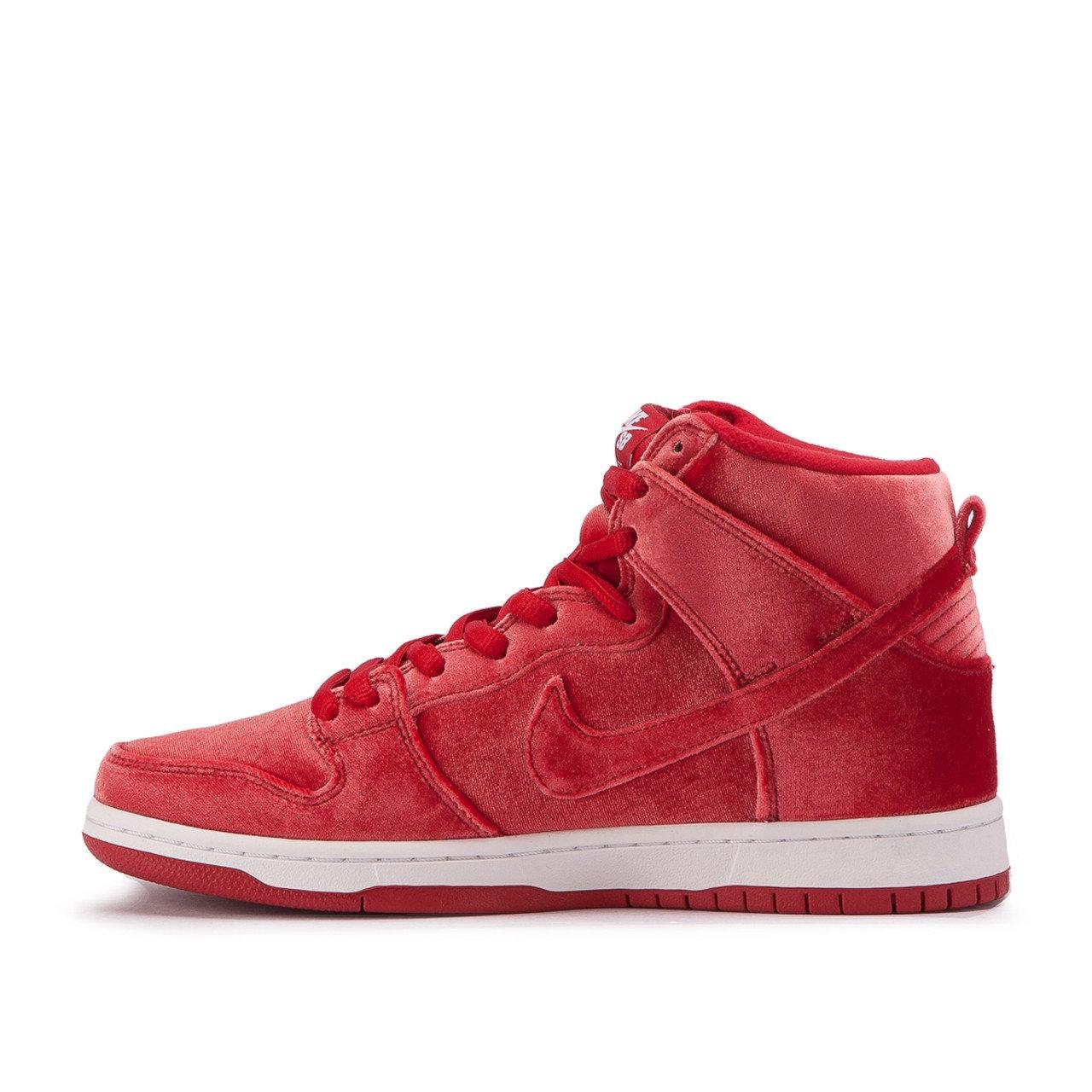 new product 870d6 f68a2 Nike SB Dunk High Premium 'Red Velvet'