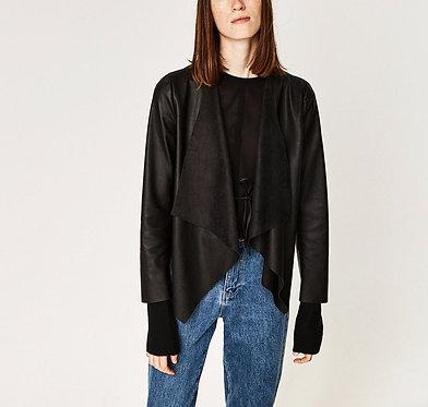 ZARA Woman Faux Leather Jacket