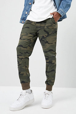 Forever21 Men's Camo French Terry Joggers