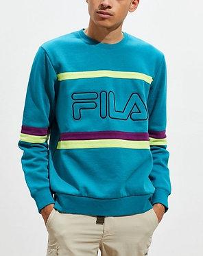 FILA UO Exclusive Beleren Colorblock Crew-Neck Sweatshirt