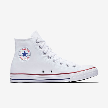 CONVERSE Unisex Chuck Taylor All Star High Top Optical White
