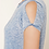 Thumbnail: FOREVER 21 Blue Burnout Knit Tee