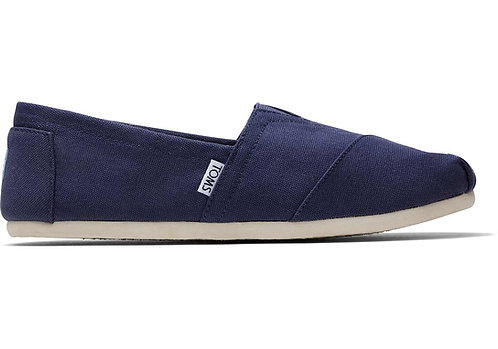 TOMS Men's Navy Canvas Classics