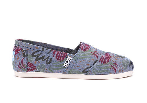 TOMS Multi Chambray Abstract Classics