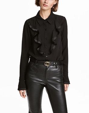 H&M Shirt with Flounces
