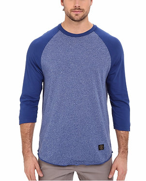 HUF Standard Issue Raglan Royal Tee