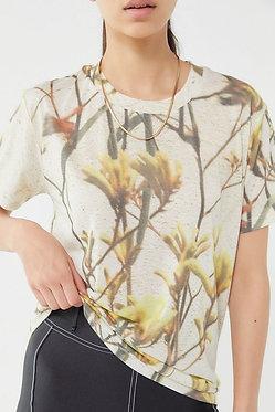 Urban Outfitters Wanderlust Printed Short Sleeve Tee