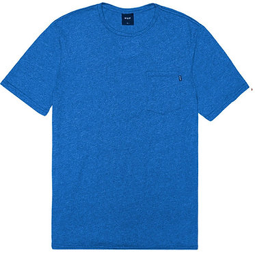 HUF Premium Mock Twist Pocket Royal Blue T-Shirt