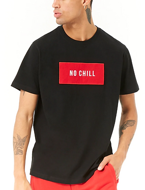 FOREVER21 Men's  No Chill Graphic Tee