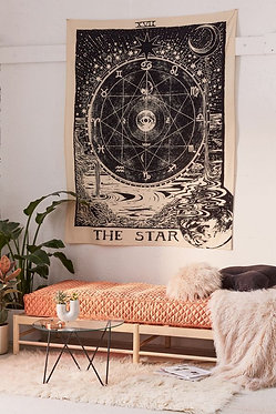 "Urban Outfitters Tarot Tapestry ""The Star"""