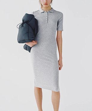 ZARA Gray Polo Neck Dress