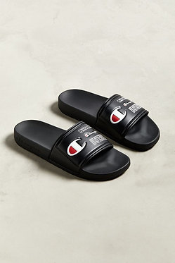 Champion IPO Black Jock Slide Sandals